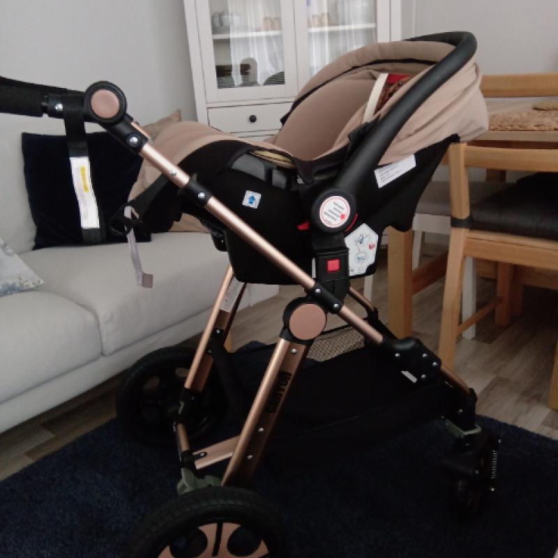 BabyPlus Canyon Gold Fonksiyonel Bebek Arabası